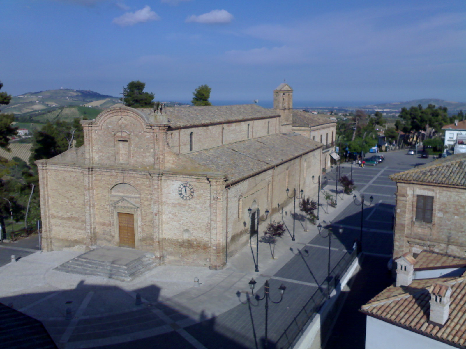 The church of San Salvatore